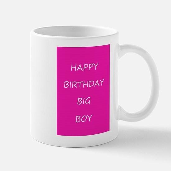 Happy Birthday Big Boy Mugs