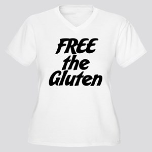 FREE the Gluten Plus Size T-Shirt