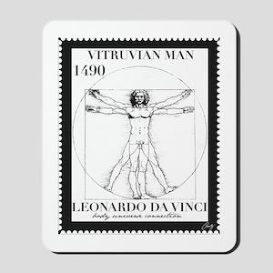 Vitruvian Man, Leonardo da Vinci circa 1 Mousepad