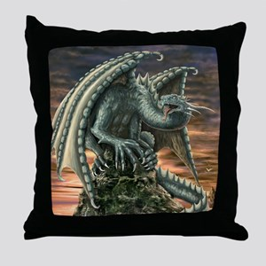 Large Dragon Throw Pillow