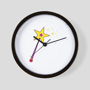 Magic Wand Wall Clock