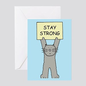 cancer support greeting cards cafepress