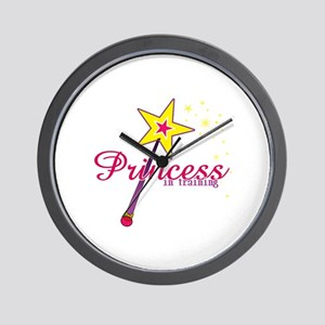 Pricess in training Wall Clock