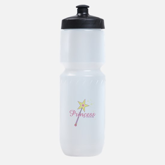 Pricess in training Sports Bottle