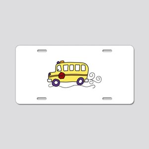 School Bus Aluminum License Plate