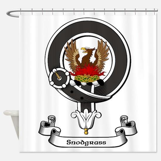 Badge-Snodgrass Shower Curtain