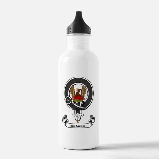 Badge-Snodgrass Sports Water Bottle