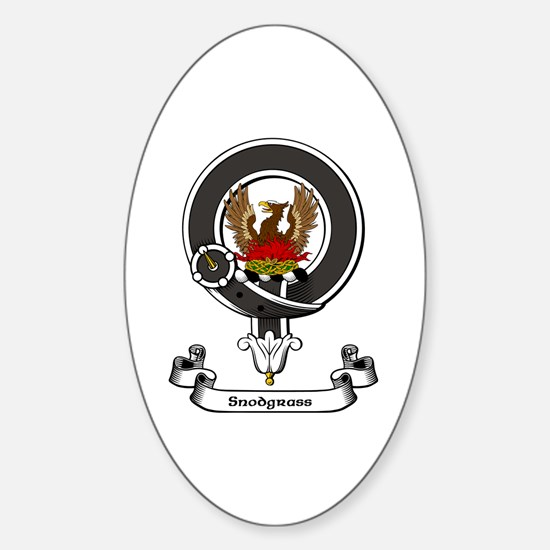 Badge-Snodgrass Sticker (Oval)