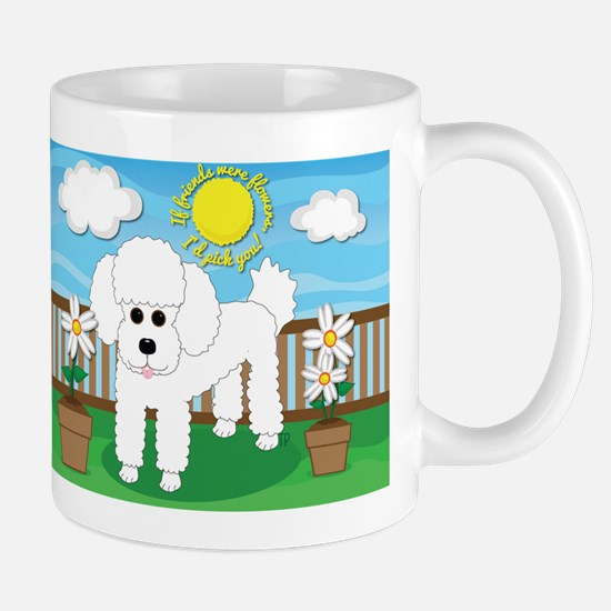 Unique Whimsical poodle Mug