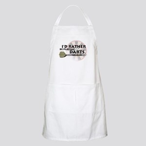 I'd rather be playing darts! BBQ Apron
