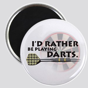 I'd rather be playing darts! Magnet