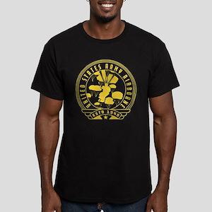 US Army Airborne Estd Men's Fitted T-Shirt (dark)