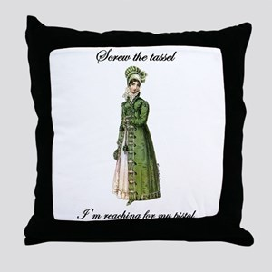 Straight Shooter Throw Pillow