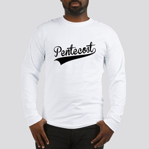 Pentecost, Retro, Long Sleeve T-Shirt