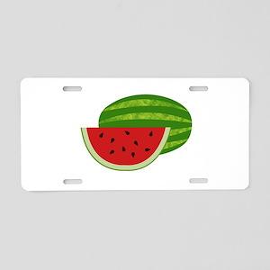Summertime Watermelons Aluminum License Plate