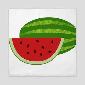 Summertime Watermelons Queen Duvet