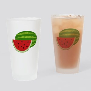 Summertime Watermelons Drinking Glass