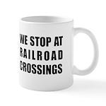 Railroad Crossing Sign Mug