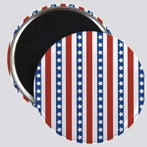 Red, White, and Blue Stars Stripes Magnets