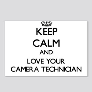 Keep Calm and Love your Camera Technician Postcard