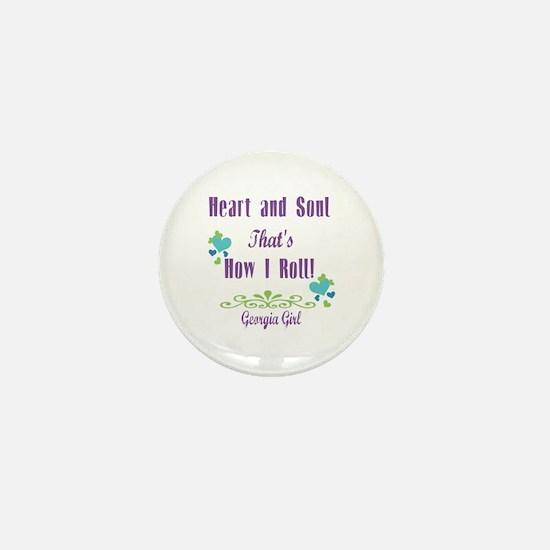 Georgia Girl Mini Button