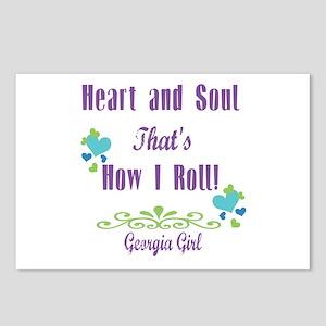 Georgia Girl Postcards (Package of 8)