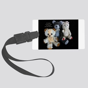 Growing Old Friends Luggage Tag