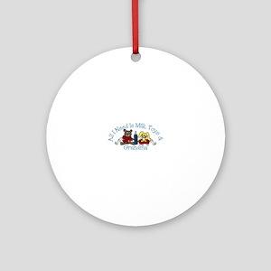All I Need Is Milk Toys Grandma Ornament (Round)