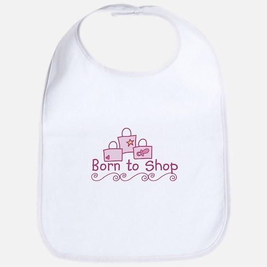 Born To Shop Bib