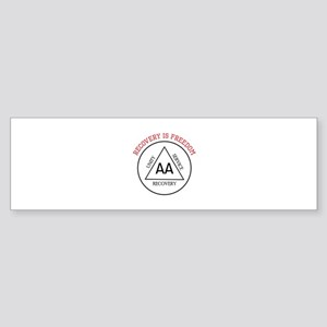 RECOVERY IS FREEDOM Bumper Sticker