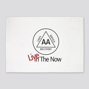 Live in The Now 5'x7'Area Rug