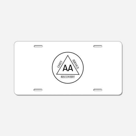 UNITY RECOVERY SERVICE Aluminum License Plate