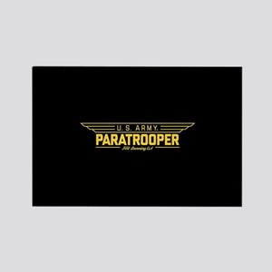 US Army Paratrooper Rectangle Magnet