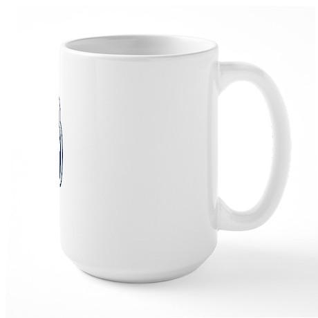 WB Dad [Romanian] Large Mug