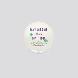 Mississippi Girl Mini Button