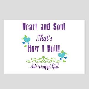 Mississippi Girl Postcards (Package of 8)