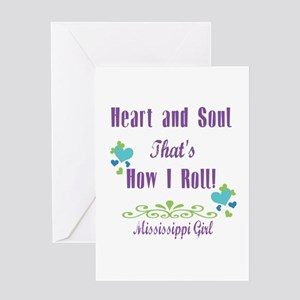 Mississippi Girl Greeting Card
