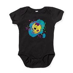 Painted Skull Baby Bodysuit