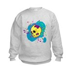 Painted Skull Sweatshirt
