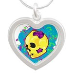 Painted Skull Necklaces