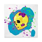 Painted Skull Queen Duvet