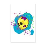 Painted Skull Posters