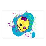 Painted Skull Postcards (Package of 8)