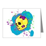 Painted Skull Note Cards