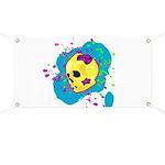 Painted Skull Banner