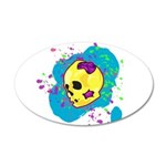 Painted Skull Wall Decal