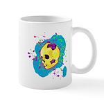 Painted Skull Mugs