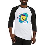 Painted Skull Baseball Jersey