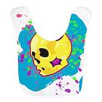 Painted Skull Bib