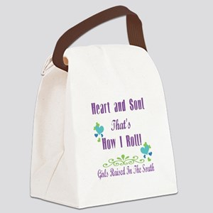 GRITS Girl Canvas Lunch Bag